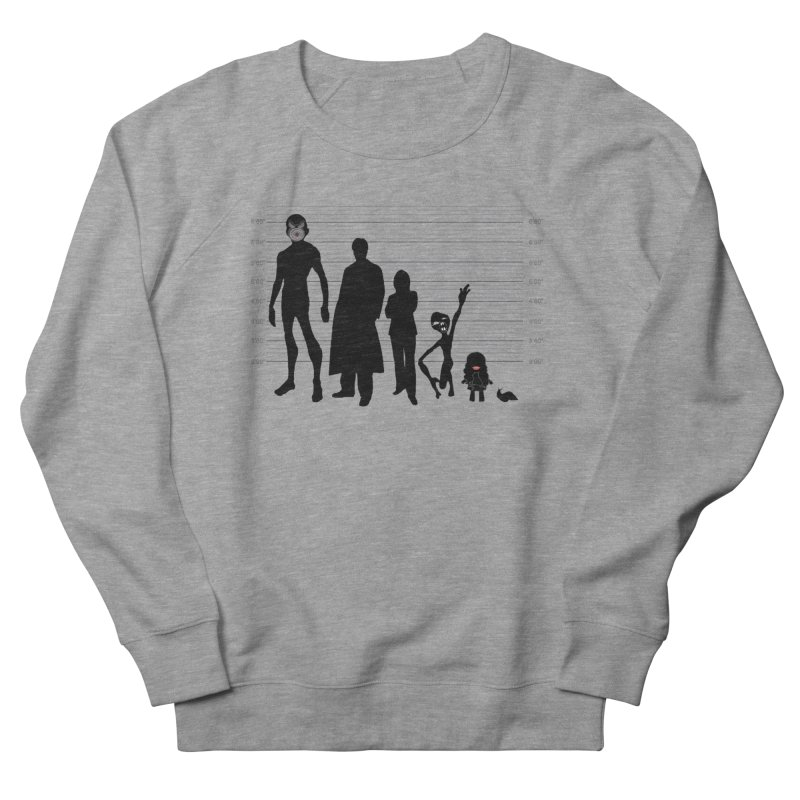 X-Files: The Usual Monsters Women's French Terry Sweatshirt by karmicangel's Artist Shop