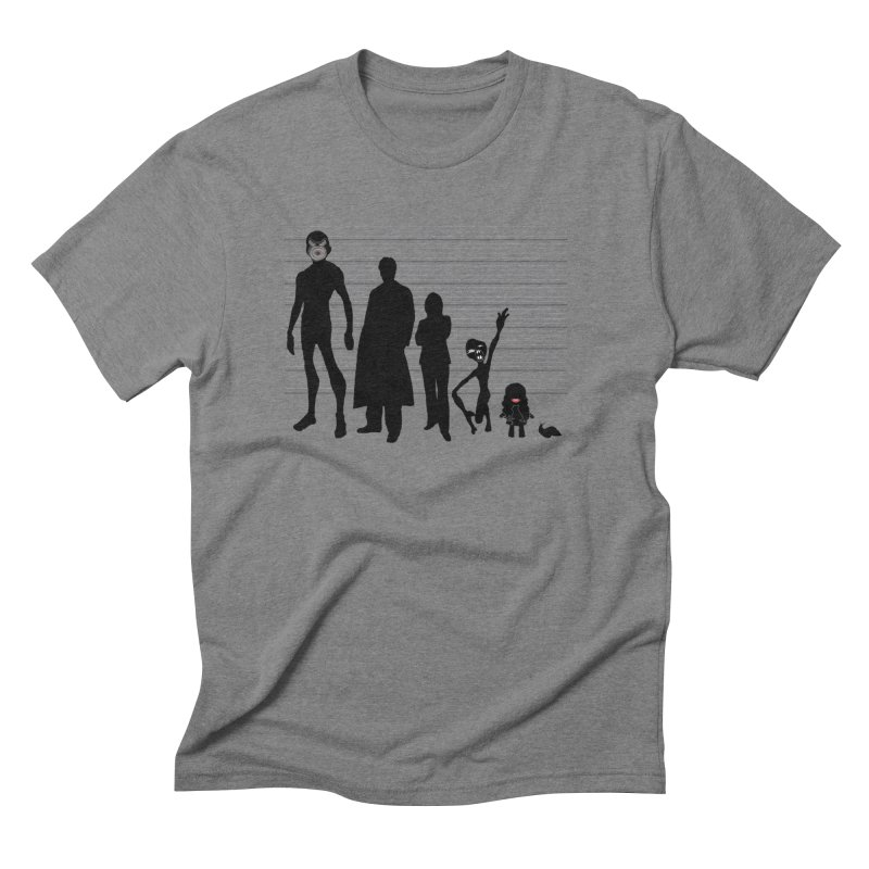 X-Files: The Usual Monsters Men's Triblend T-Shirt by karmicangel's Artist Shop