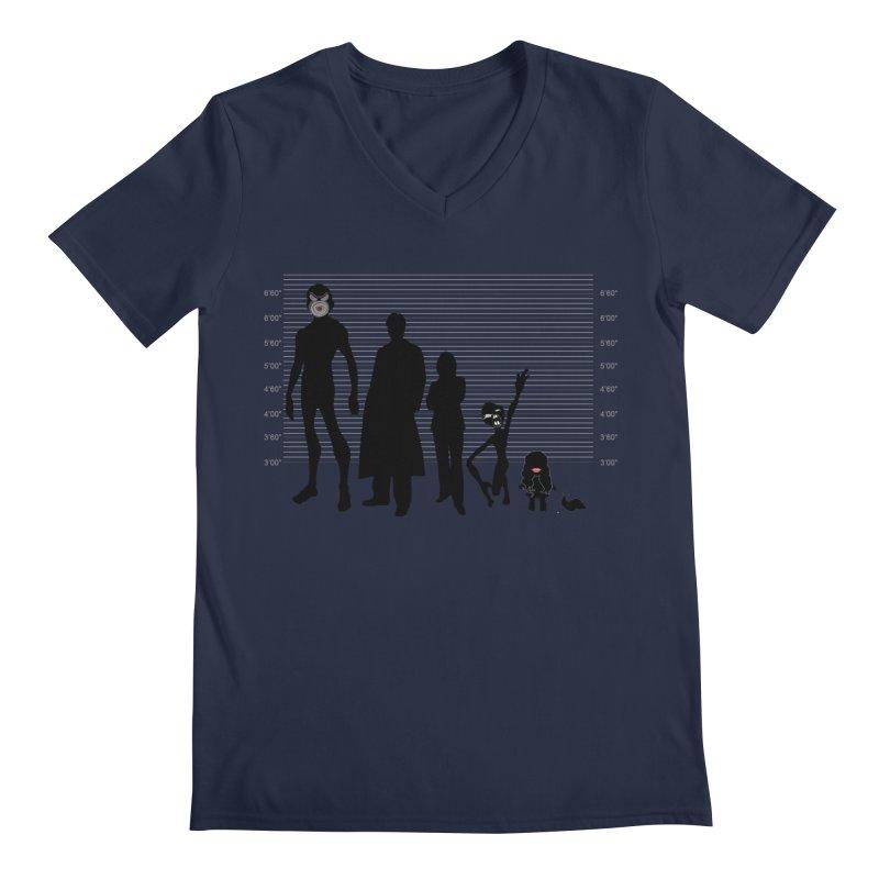 X-Files: The Usual Monsters Men's Regular V-Neck by karmicangel's Artist Shop
