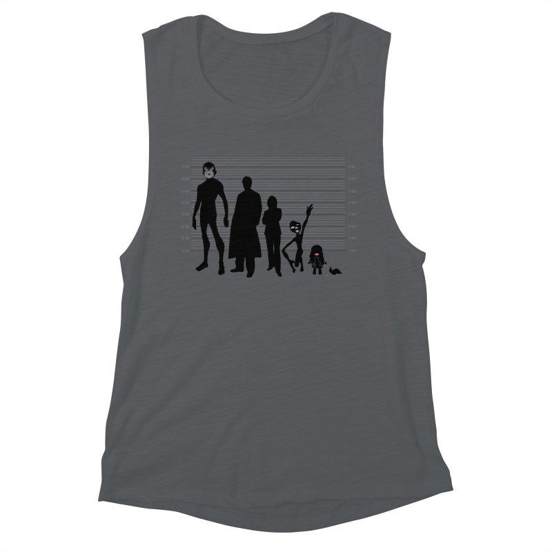 X-Files: The Usual Monsters Women's Tank by karmicangel's Artist Shop