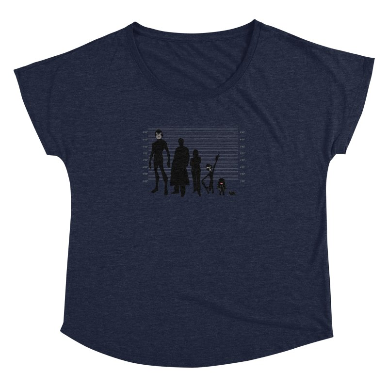 X-Files: The Usual Monsters Women's Dolman Scoop Neck by karmicangel's Artist Shop