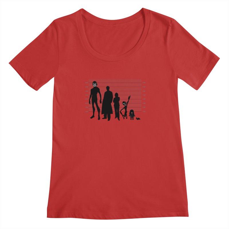 X-Files: The Usual Monsters Women's Regular Scoop Neck by karmicangel's Artist Shop