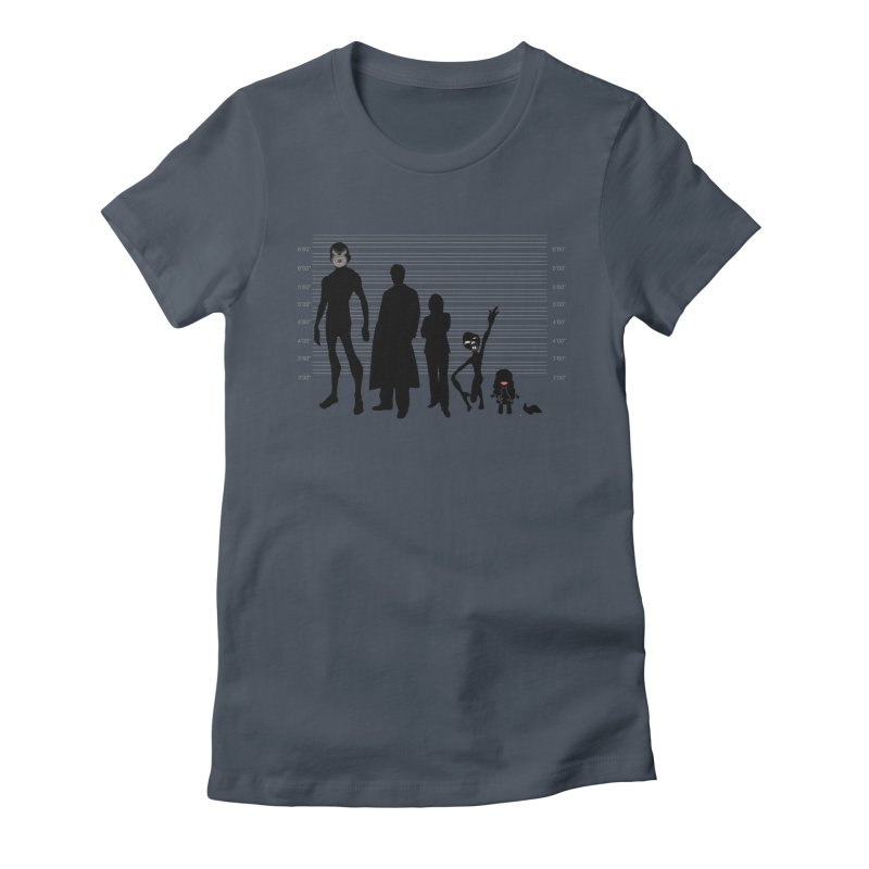 X-Files: The Usual Monsters Women's T-Shirt by karmicangel's Artist Shop