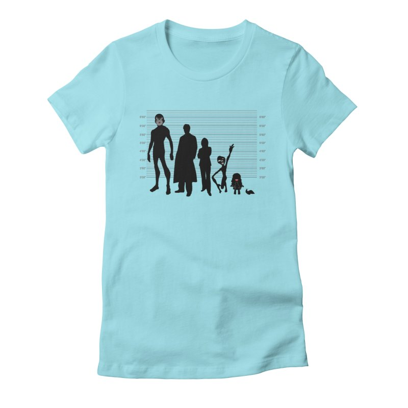 X-Files: The Usual Monsters Women's T-Shirt by karmicangel's Artist Shop