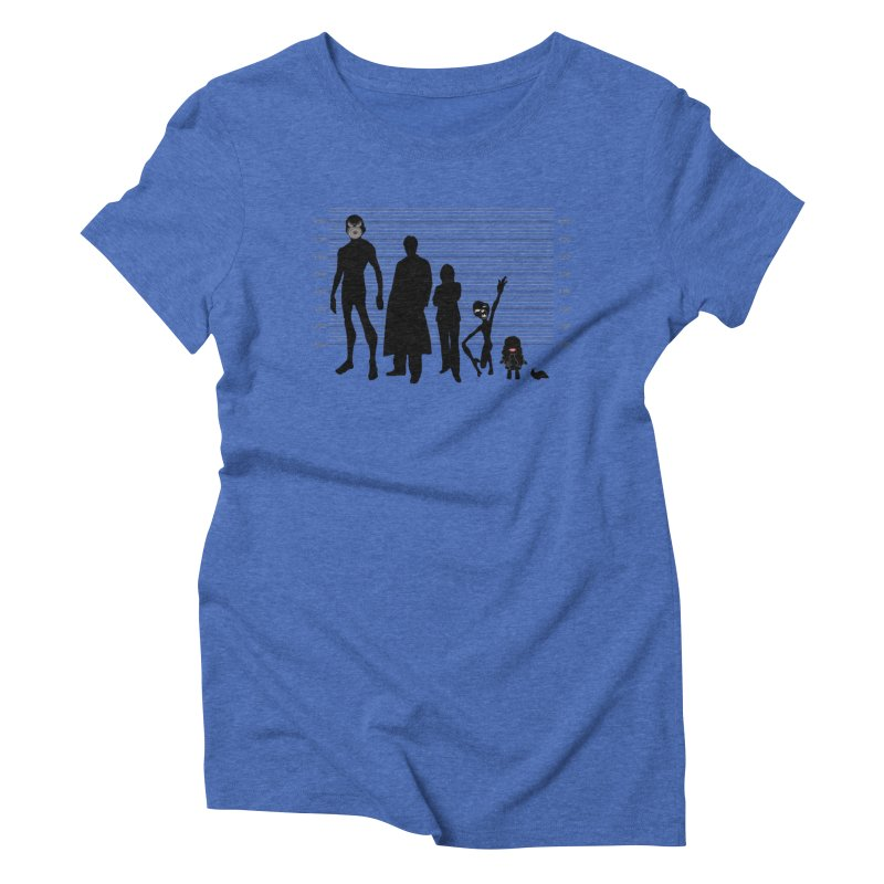 X-Files: The Usual Monsters Women's Triblend T-Shirt by karmicangel's Artist Shop