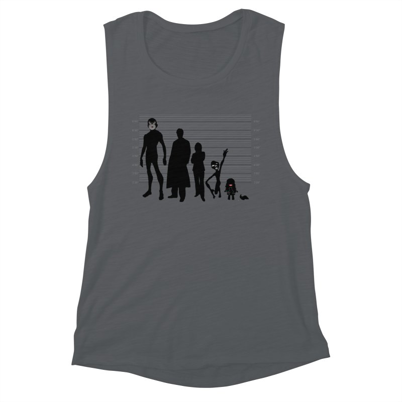 X-Files: The Usual Monsters Women's Muscle Tank by karmicangel's Artist Shop