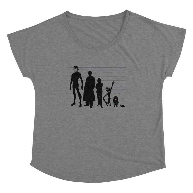 X-Files: The Usual Monsters Women's Scoop Neck by karmicangel's Artist Shop