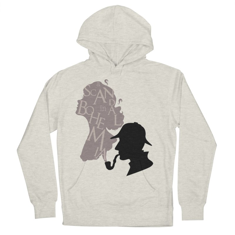 A Scandal in Bohemia Women's French Terry Pullover Hoody by karmicangel's Artist Shop