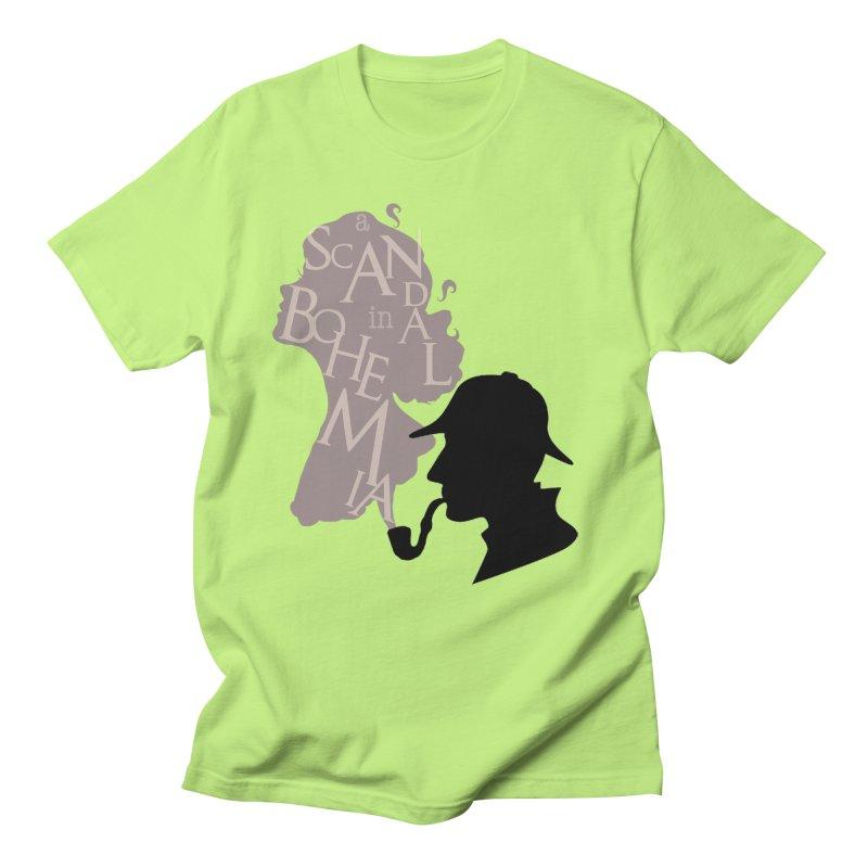 A Scandal in Bohemia Men's T-Shirt by karmicangel's Artist Shop