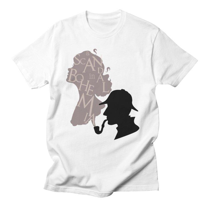 A Scandal in Bohemia Men's Regular T-Shirt by karmicangel's Artist Shop