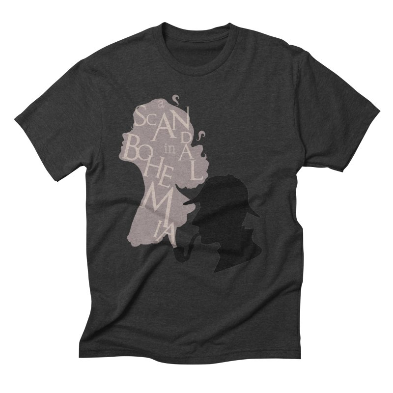 A Scandal in Bohemia Men's Triblend T-Shirt by karmicangel's Artist Shop