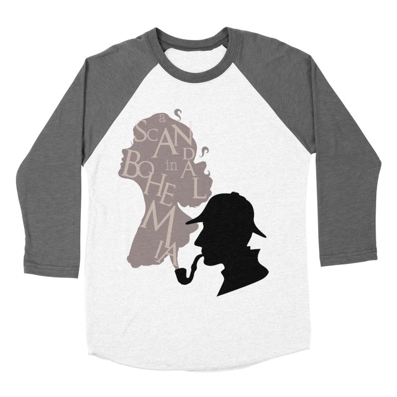 A Scandal in Bohemia Women's Baseball Triblend Longsleeve T-Shirt by karmicangel's Artist Shop