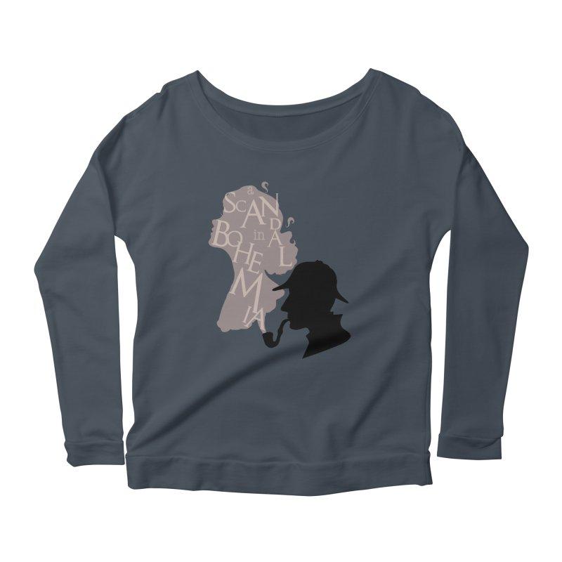 A Scandal in Bohemia Women's Scoop Neck Longsleeve T-Shirt by karmicangel's Artist Shop