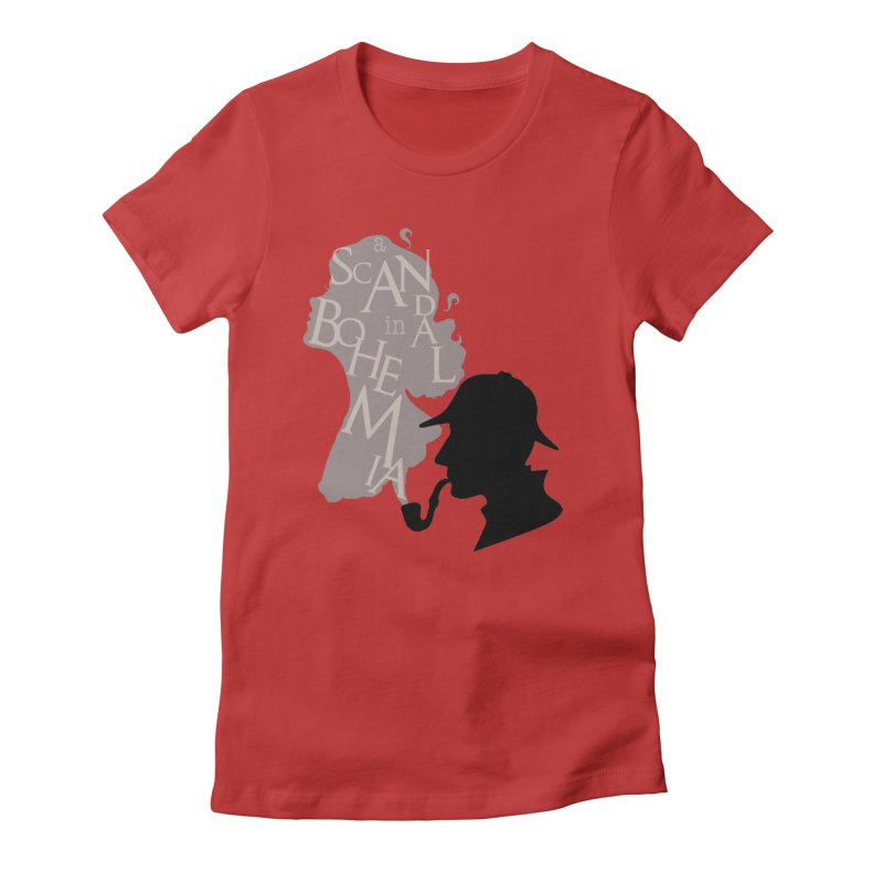 A Scandal in Bohemia Women's Fitted T-Shirt by karmicangel's Artist Shop