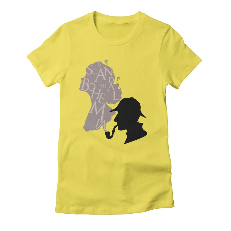 A Scandal in Bohemia Women's Fitted T-Shirt by karmicangel's Artist Shop