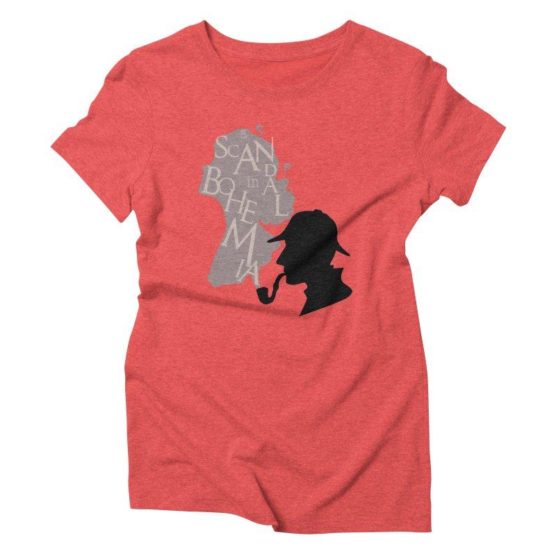 A Scandal in Bohemia Women's Triblend T-Shirt by karmicangel's Artist Shop