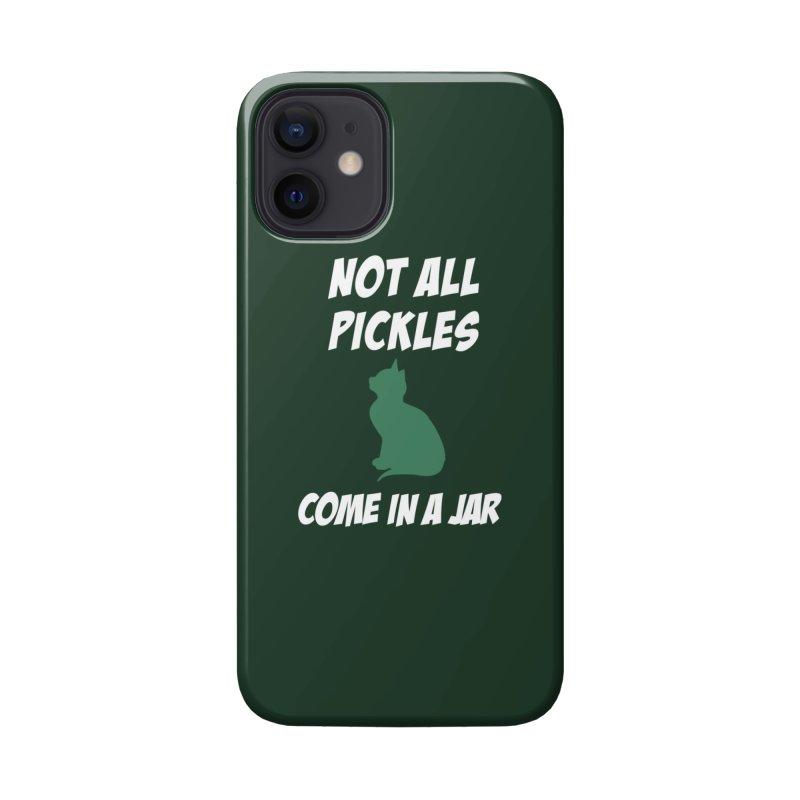 Pickles vs the Zombies Accessories Phone Case by karmicangel's Artist Shop