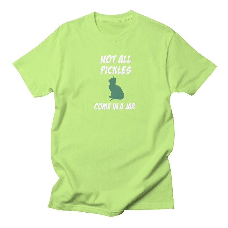 Pickles vs the Zombies Men's T-Shirt by karmicangel's Artist Shop