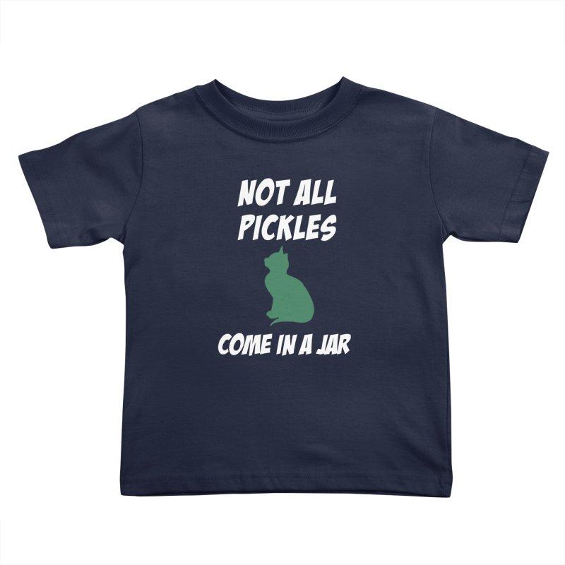 Pickles vs the Zombies Kids Toddler T-Shirt by karmicangel's Artist Shop