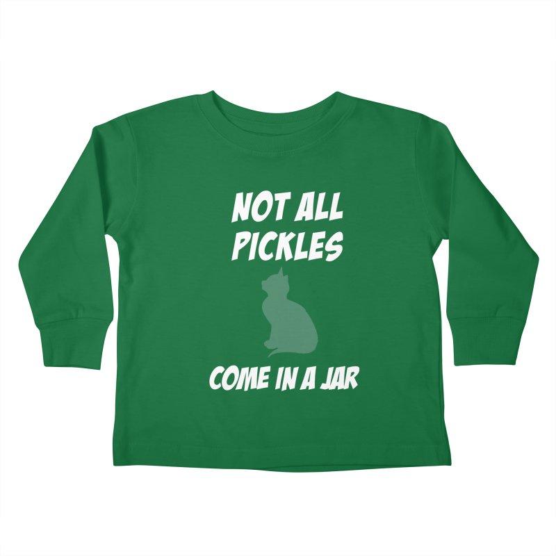 Pickles vs the Zombies Kids Toddler Longsleeve T-Shirt by karmicangel's Artist Shop