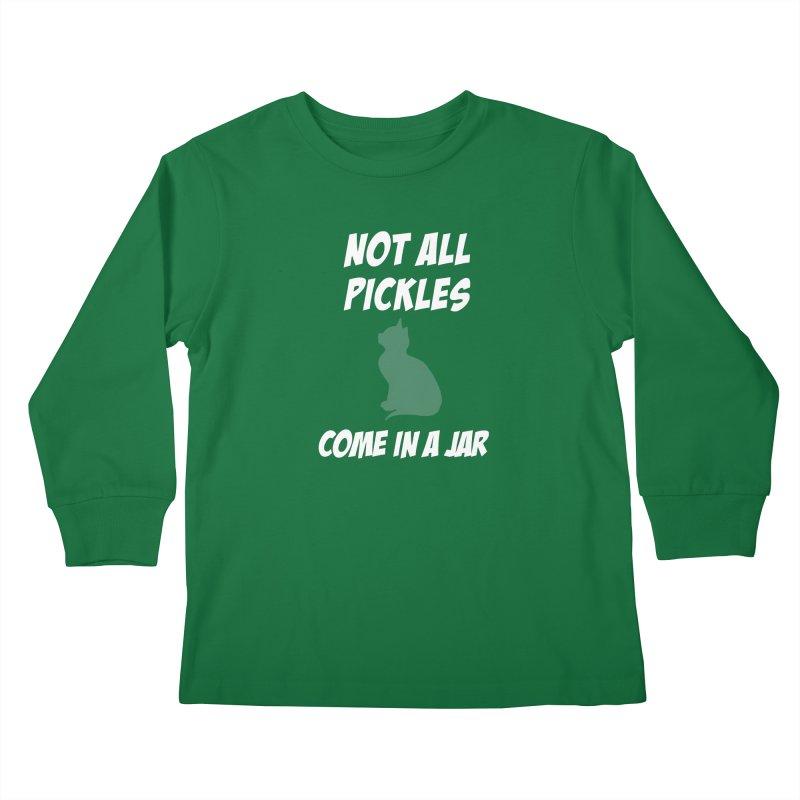 Pickles vs the Zombies Kids Longsleeve T-Shirt by karmicangel's Artist Shop
