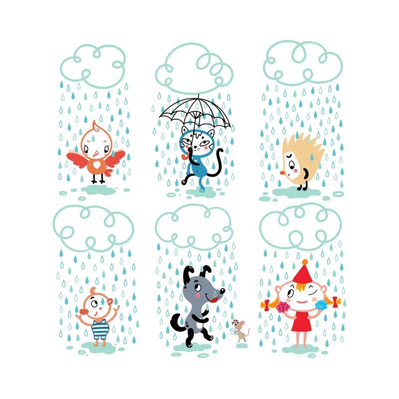 Love the Rain! by karrrart's Artist Shop