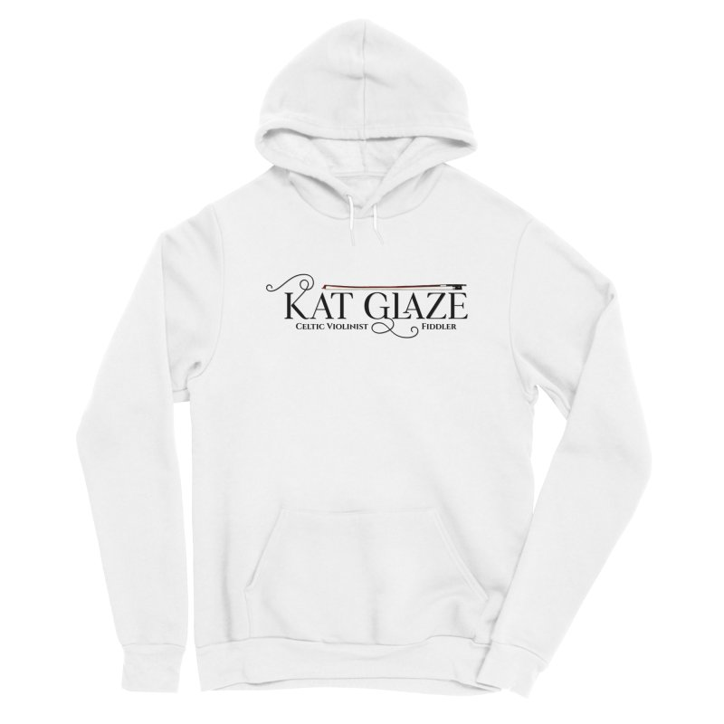 Kat Glaze - Black Logo Women's Pullover Hoody by Kat and The Fiddle