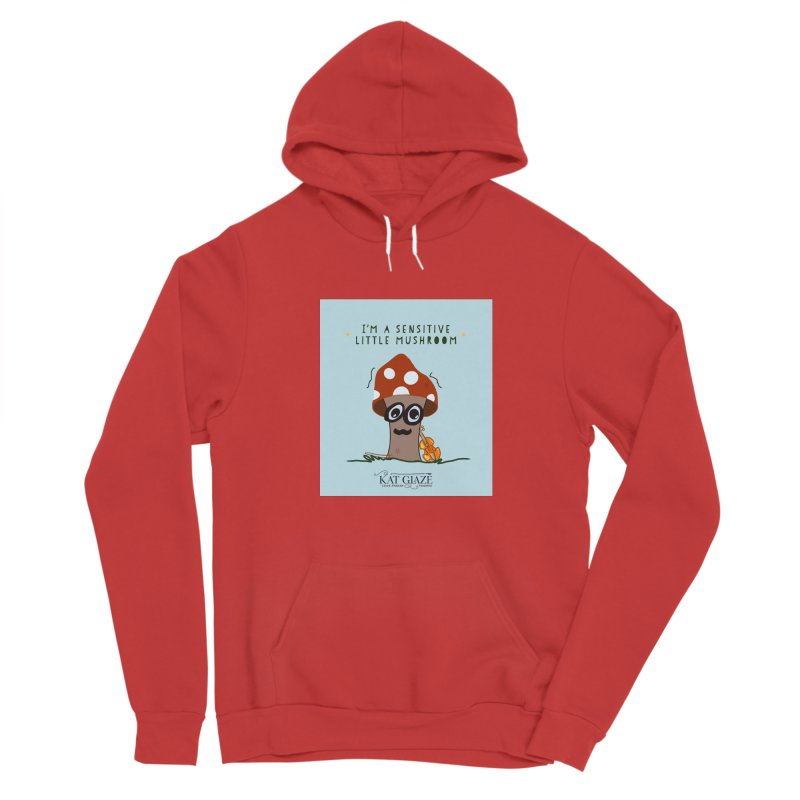 Morsel the Mushroom Women's Pullover Hoody by Kat and The Fiddle