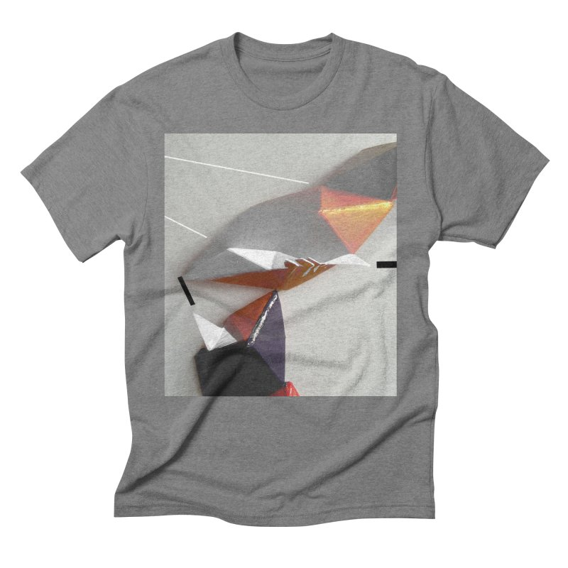Polygon I Men's Triblend T-Shirt by Kacix Artist Shop