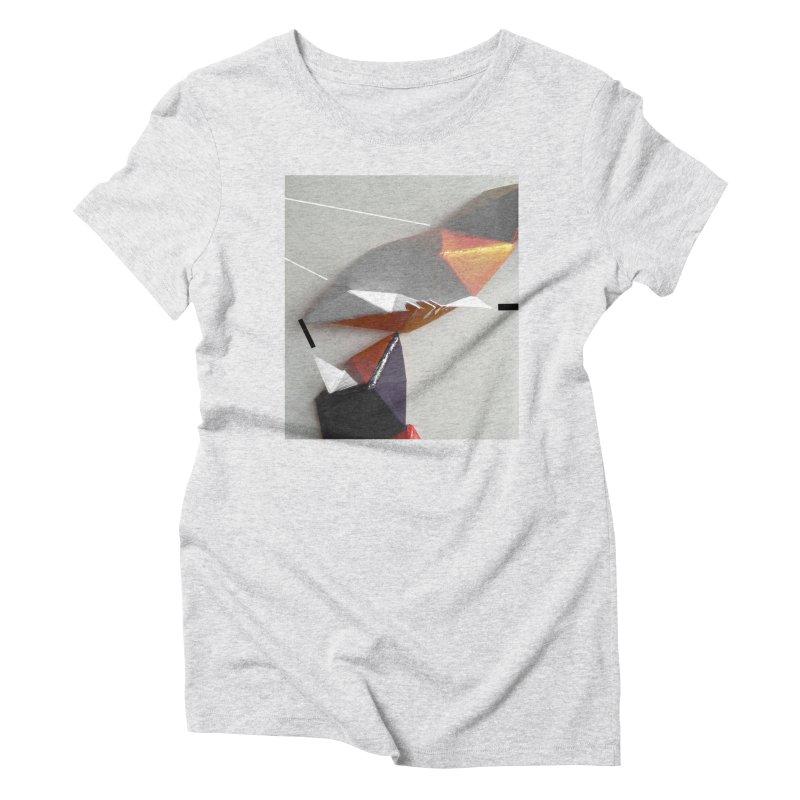 Polygon I Women's Triblend T-Shirt by Kacix Artist Shop