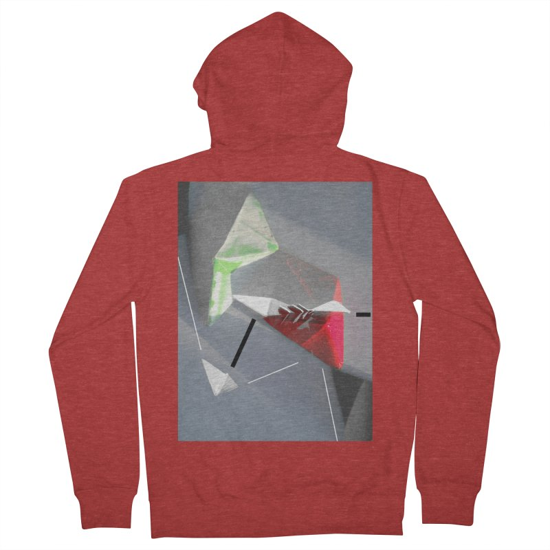 Polygon II Men's Zip-Up Hoody by Kacix Artist Shop