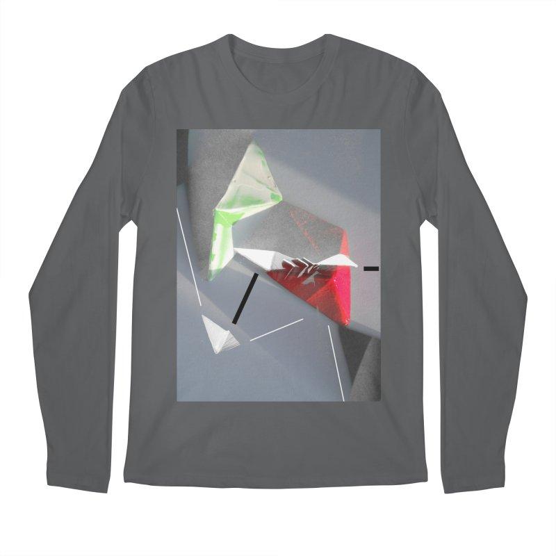 Polygon II Men's Longsleeve T-Shirt by Kacix Artist Shop