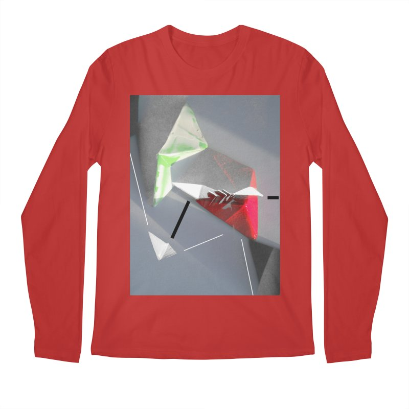 Polygon II Men's Regular Longsleeve T-Shirt by Kacix Artist Shop