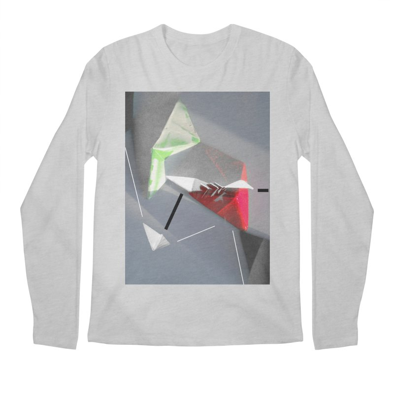 Polygon II Men's Longsleeve T-Shirt by Kacix Artist Shop