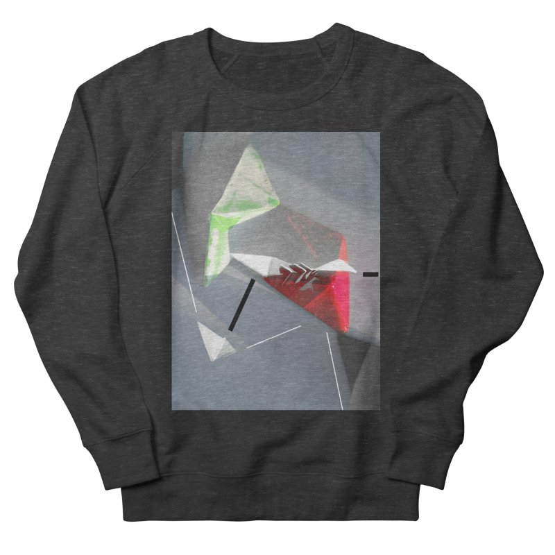 Polygon II Men's French Terry Sweatshirt by Kacix Artist Shop