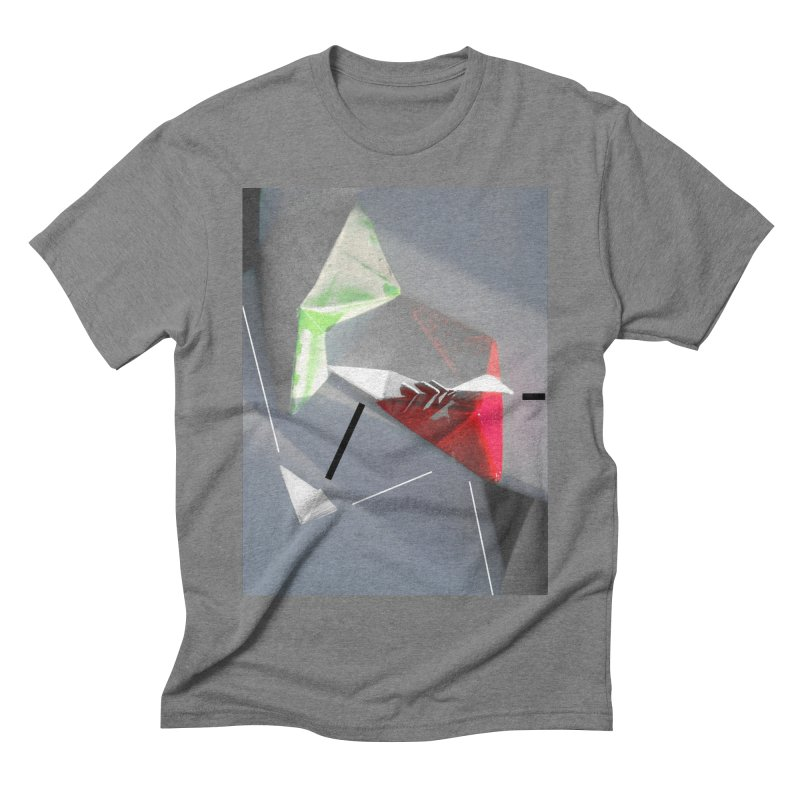 Polygon II Men's Triblend T-shirt by Kacix Artist Shop
