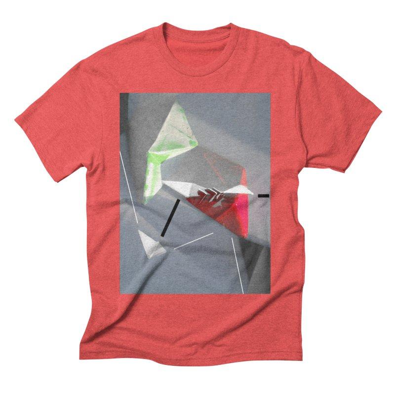 Polygon II Men's Triblend T-Shirt by Kacix Artist Shop