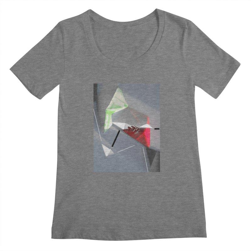 Polygon II Women's Scoopneck by Kacix Artist Shop