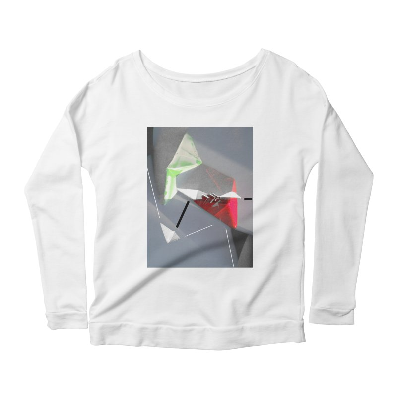 Polygon II Women's Scoop Neck Longsleeve T-Shirt by Kacix Artist Shop