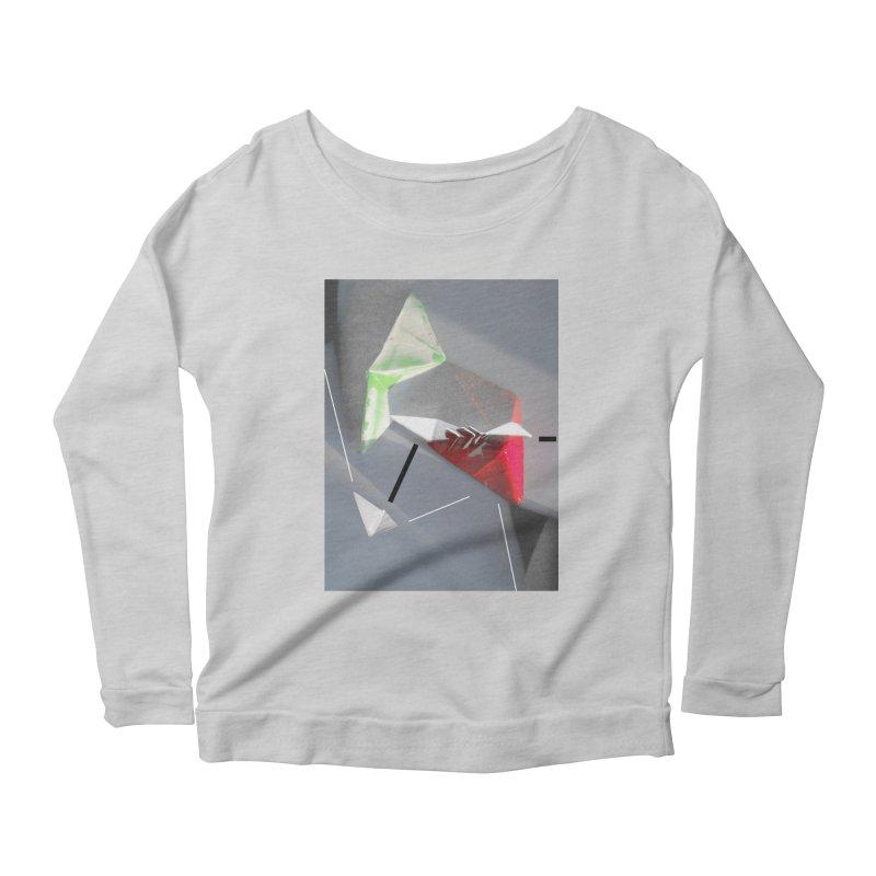Polygon II Women's Longsleeve Scoopneck  by Kacix Artist Shop
