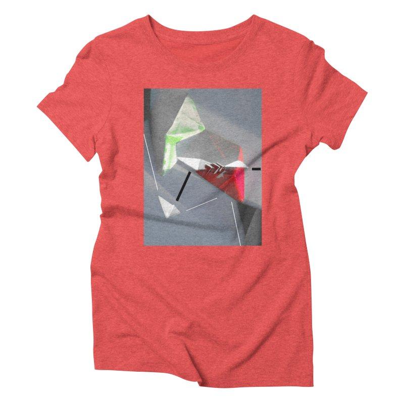Polygon II Women's Triblend T-Shirt by Kacix Artist Shop