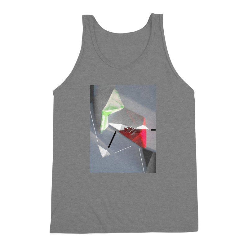 Polygon II Men's Triblend Tank by Kacix Artist Shop
