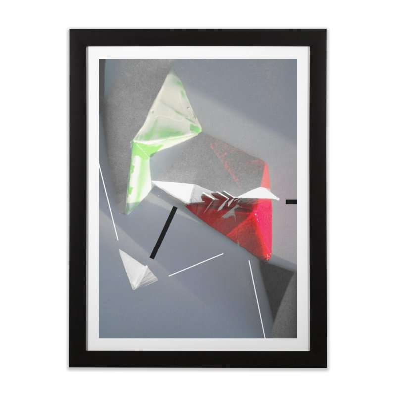 Polygon II Home Framed Fine Art Print by Kacix Artist Shop