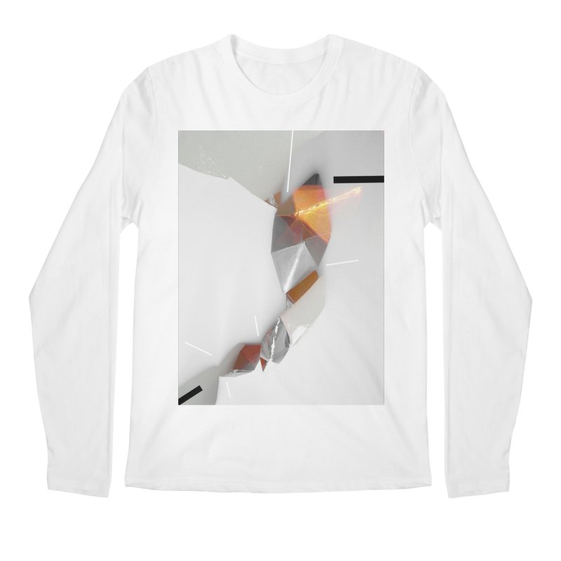 Polygon III Men's Regular Longsleeve T-Shirt by Kacix Artist Shop
