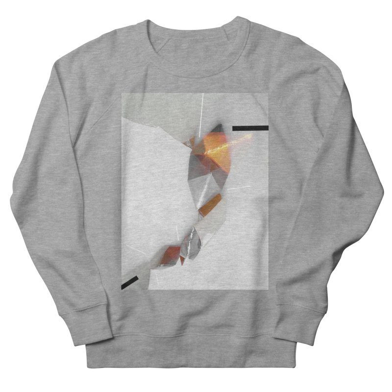 Polygon III Men's French Terry Sweatshirt by Kacix Artist Shop