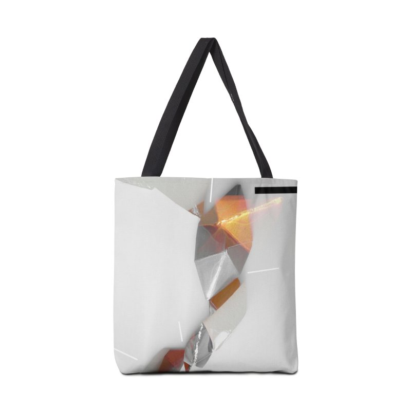 Polygon III Accessories Tote Bag Bag by Kacix Artist Shop
