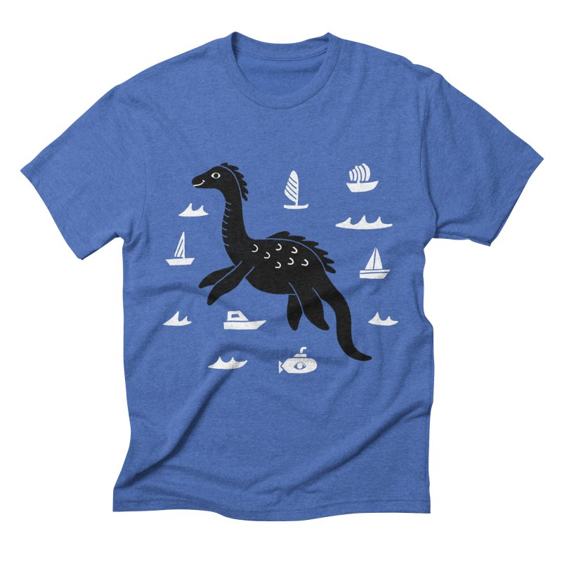 I want to believe in... Nessie Men's T-Shirt by Katdog