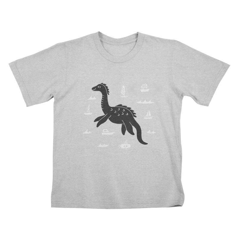 I want to believe in... Nessie Kids T-Shirt by Katdog
