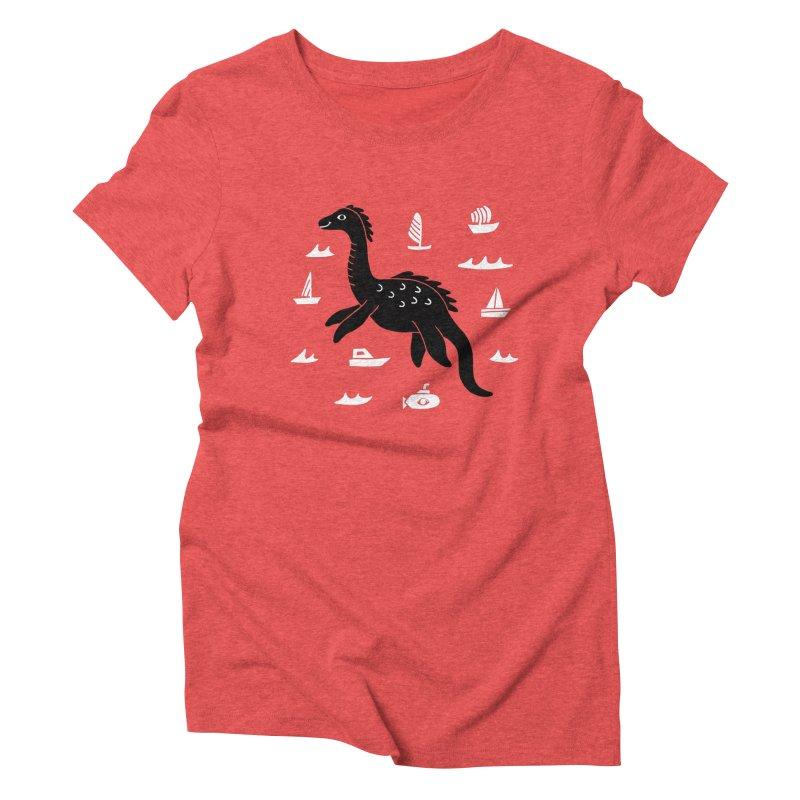 I want to believe in... Nessie Women's T-Shirt by Katdog