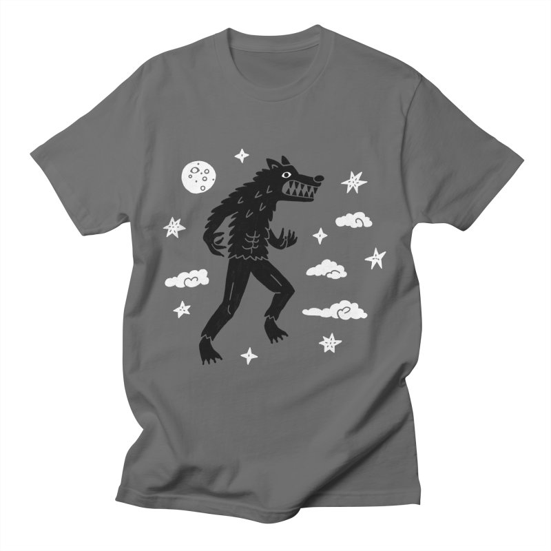 I want to believe in... Werewolves Men's T-Shirt by Katdog